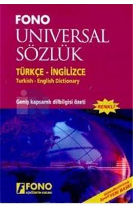 fono universal sozluk turkce ingilizce