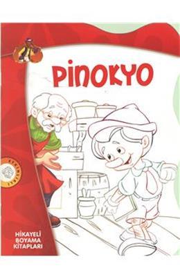 Pinokyo Hikayeli Boyama Kitapları Insancilkitapcom