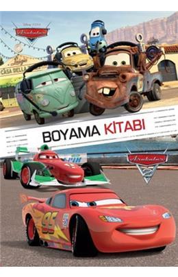 Disney Arabalar Boyama Kitabi 3 Yas Ilhan Aksit Insancilkitap Com