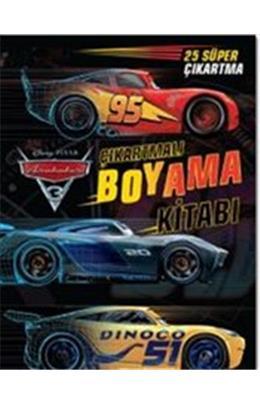 Arabalar 3 çıkartmalı Boyama Kitabı Ilhan Akşit Insancilkitapcom